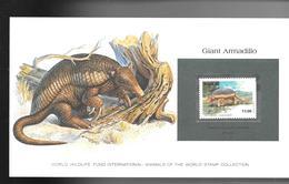 BRESIL 1982 SUPERBE CARTE COLECTION WWF GIANT ARMADILLO TATOU GEANT Avec Timbre MI  N°1540 Neuf **sans Charnière /MA06 - Brazilië