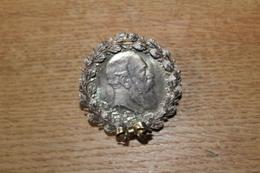 Médaille Monnaie Argent  5 Mark Deutsch Reich BADEN Frederich I Avec Belle Présentation Aux Lauriers Grosse Côte - 2, 3 & 5 Mark Silver