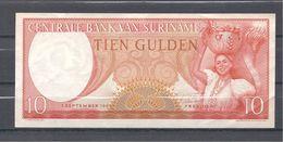 SURINAM 10 Gulden 1963 - Surinam