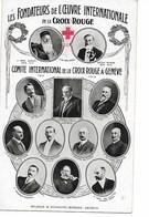 CROIX ROUGE Les Fondateurs De L'oeuvre Internationale De La Croix Rouge    ....G - Rotes Kreuz