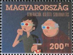 HONGRIE Génération,Cinéma 3D 12 1v Neuf ** MNH - Hungary
