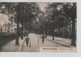 CBPNCPCF36/ Grand Duché Mondorf-les-Bains Avenue De La Gare Enfants Jouant à La Roue - Mondorf-les-Bains
