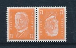 DEUTSCHES REICH  Mi. Nr. K 13 Reichspräsidenten - MNH - Siehe Scan - Se-Tenant
