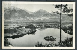 "CPSM S/w Photo AK Slowenien Bled,Veldes,Feldes 1937 ""Bled-Ortsanblick""1 AK Used - Slowenien"