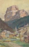 2a.224. Canazei Col Piz Boe... - 1925 - Strada Delle Dolomiti - Bolazno - Illustrata R.A. Höger - Italien