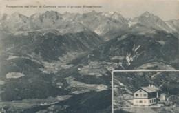2a.230. Rifugio Pian Di Corones Verso Il Gruppo Rieserferner - 1918 - Bolzano - Italië