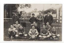 FOOTBALL - CARTE PHOTO - Equipe De Football ESSM - Football