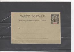 INDOCHINE - Entier Postal - Carte Postale  - 11cm X 7cm - - Briefe U. Dokumente