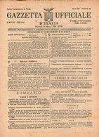 B 2992  -  Gazzetta Ufficiale D'Italia, Repubblica Sociale Italiana, RSI, Fascismo, 1945 - Decreti & Leggi