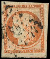 EMISSION DE 1849 - 5    40c. Orange, Oblitéré DS2, TB. C - 1849-1850 Cérès