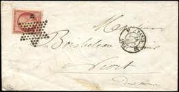 Let EMISSION DE 1849 - 6a    1f. Carmin Clair, Obl. ETOILE S. Env., Càd T1330 10 24/10/53, TTB. J - 1849-1850 Cérès