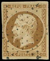PRESIDENCE - 9    10c. Bistre-jaune, Oblitéré ETOILE, TB - 1852 Louis-Napoléon