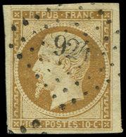 PRESIDENCE - 9    10c. Bistre-jaune, Obl. PC 924, TB - 1852 Louis-Napoléon