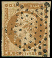 PRESIDENCE - 9a   10c. Bistre-brun, Obl. ETOILE, TB.C - 1852 Louis-Napoléon