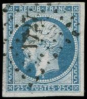 PRESIDENCE - 10   25c. Bleu, Obl. PC 1727, TB - 1852 Louis-Napoléon