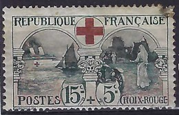 FRANCE  1918:   Le Y&T 156, 2ème Choix - France