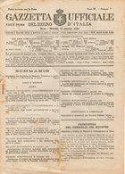 B 2993  -  Gazzetta Ufficiale Del Regno D'Italia,  1945 - Decreti & Leggi