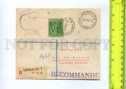414798 Belgian Congo Tanganyika DarEsSalaam 1942 Leopoldoville Military Censure - Belgisch-Kongo