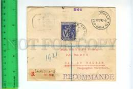 414799 Belgian Congo Tanganyika DarEsSalaam 1942 Leopoldoville Military Censure - 1923-44: Covers