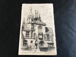 BOURGES Palais Jacques Coeur (gravure) - Bourges
