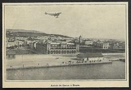 1913  --  ARRIVEE DE ROLAND GARROS A BIZERTE  3S276 - Vieux Papiers