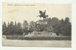 TORINO - MONUMENTO AL PRINCIPE AMEDEO 1923     VIAGGIATA  FP - Italy