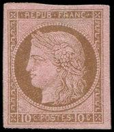 * Colonies Générales - 18   10c. Brun Sur Rose, TB - France (ex-colonies & Protectorats)