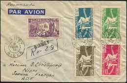 Let Colonies Générales - 60/64 La Série Obl. Càd Niamey 9/2/44 S. Env. Rec., Arr. BAMAK Le 23/2/44, TB - France (ex-colonies & Protectorats)