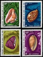 ** AFARS ET ISSAS 377/80 : Coquillages, TB - Afars Et Issas (1967-1977)