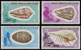 ** AFARS ET ISSAS 400/03 : Coquillages, TB - Afars Et Issas (1967-1977)