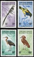 ** AFARS ET ISSAS 410/13 : Oiseaux, TB - Afars Et Issas (1967-1977)