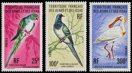 ** AFARS ET ISSAS 428/30 : Oiseaux, TB - Afars Et Issas (1967-1977)