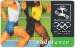 SOUTH AFRICA A-577 Chip Telkom - Event, Sport, Olympic Games, Running - Used - Südafrika