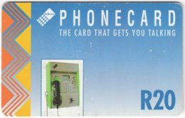 SOUTH AFRICA A-587 Chip Telkom - Communication, Phone Booth - Used - Südafrika
