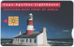 SOUTH AFRICA A-612 Chip Telkom - Landscape, Coast, Lighthouse - Used - Südafrika