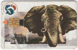 SOUTH AFRICA A-613 Chip Telkom - Animal, Elephant - Used - Südafrika