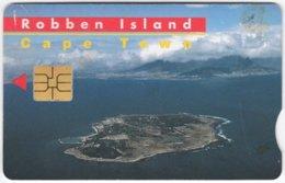 SOUTH AFRICA A-616 Chip Telkom - Landscape, Robben Island - Used - Südafrika