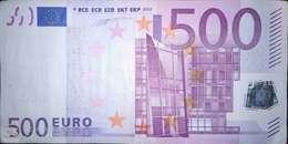 500 EURO HOLANDA(P), F001, De La Primera Firma De DUISEMBERG - EURO