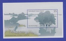 Bundesrepublik 2003 Blockausgabe Nationalpark Unteres Odertal Mi.-Nr.Block 61 ** - [7] Federal Republic