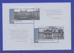 Bundesrepublik 2009 Blockausgabe Deutscher Bundestag  Mi.-Nr. Block 76 ** - [7] Federal Republic