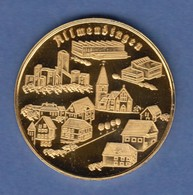 Goldmedaille Allmendingen Alb-Donau-Kreis 1979 10,70g Gold Au986 - Münzen