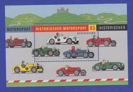 Bundesrepublik 2009 Blockausgabe Historischer Motorsport  Mi.-Nr. Block 75 ** - [7] Federal Republic