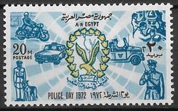 1972 Ägypten Mi. 1077**MNH  Tag Der Polizei - Neufs