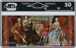 """TWK Österreich Privat: """"1000 J. Österreich - Maria Theresia"""" Gebr. - Oesterreich"""