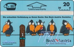 """TWK Österreich Privat: """"Bank Austria - Kontofon"""" Gebr. - Autriche"""