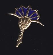 60877-Pin's.chardon Bleu.. - Marques