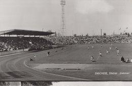 ENSCHEDE - Netherlands - 1967 - DIEKMAN Stadium Postcard - Football