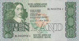 AFRIQUE DU SUD 10 RAND ND1981-90 AUNC P 120 Sign6 - Afrique Du Sud