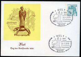 Bund PP100 C2/012 GEISTKÄMPFER BARLACH KIEL Sost. 1978 - [7] République Fédérale