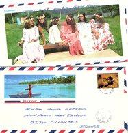 POLYNESIE FRANCAISE  - LETTRE PAR AVION  Yv N°307 / 1 - French Polynesia